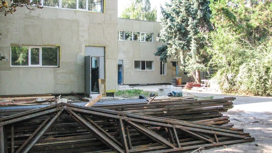 1 Садочок у Новомосковську реконструюють.