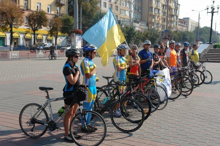 В Івано-Франківську стартував велопробіг, який фінішує у Коломиї (ФОТО), фото-4