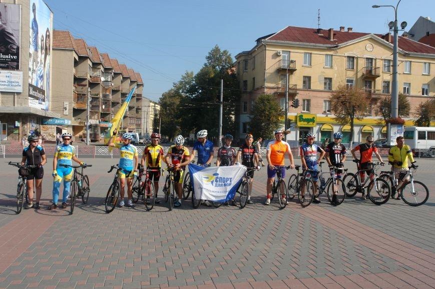 В Івано-Франківську стартував велопробіг, який фінішує у Коломиї (ФОТО), фото-5