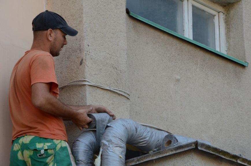 Работы на теплотрассе по улице Ореховой, 31 в Ялте будут закончены в ближайшее время (4)