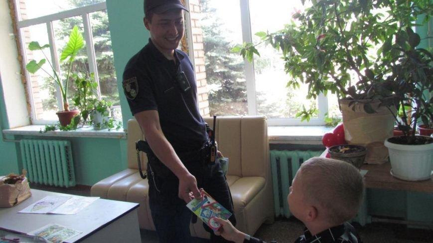 Краматорские полицейские объяснили детям правило поведения на дороге, фото-2