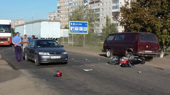 На Кировоградщине пострадал в ДТП скутерист (ФОТО), фото-3