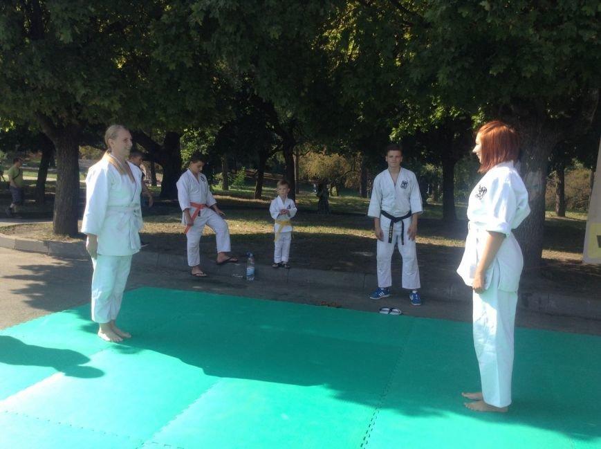 У Парку культури продемонстрували бойове мистецтво айкідо (ФОТО+ВІДЕО), фото-1