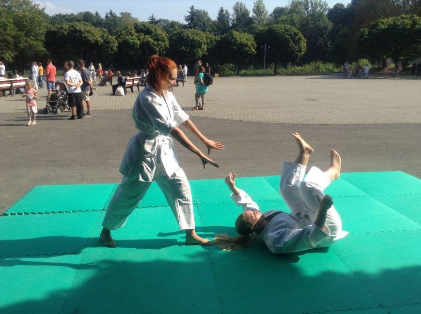 У Парку культури продемонстрували бойове мистецтво айкідо (ФОТО+ВІДЕО), фото-4