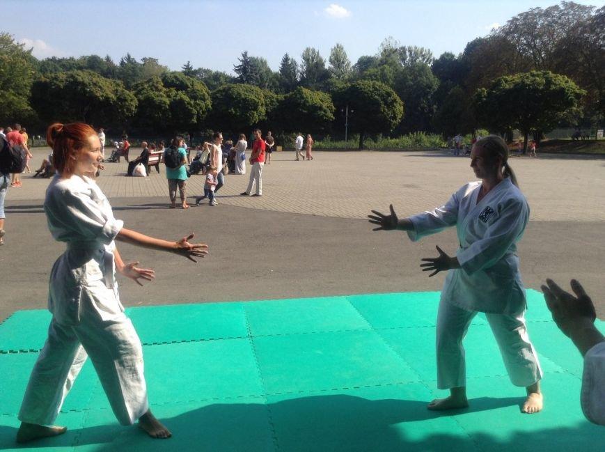 У Парку культури продемонстрували бойове мистецтво айкідо (ФОТО+ВІДЕО), фото-2