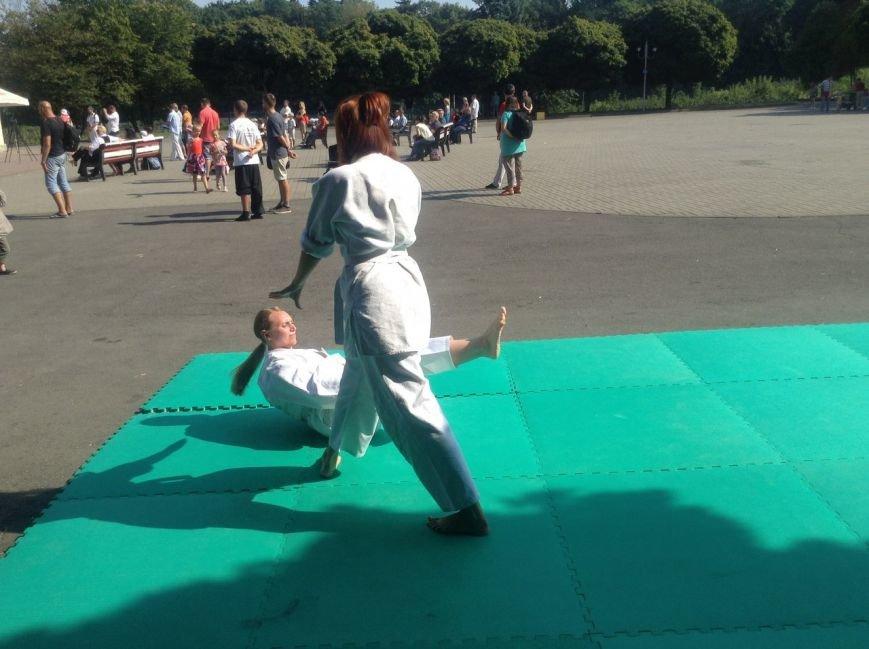 У Парку культури продемонстрували бойове мистецтво айкідо (ФОТО+ВІДЕО), фото-3