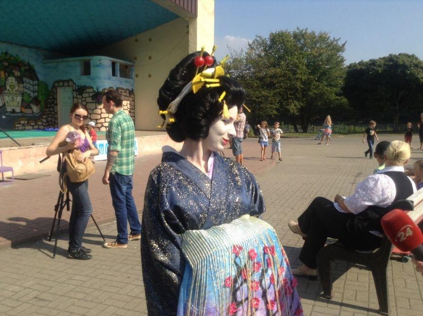 У Львові на Фестивалі східної культури презентували традиційний японський танець (ФОТО+ВІДЕО), фото-3