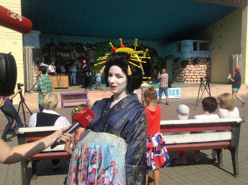 У Львові на Фестивалі східної культури презентували традиційний японський танець (ФОТО+ВІДЕО), фото-7