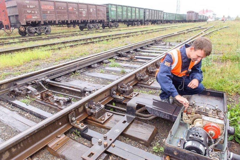 """Работы по централизации стрелочных переводов на станции """"Промышленная"""" в завершающей стадии, фото-1"""