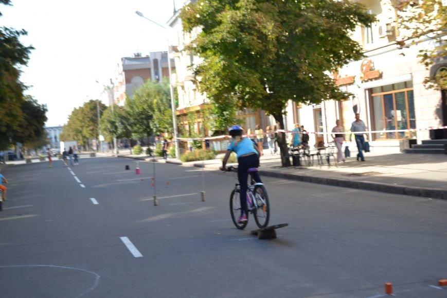 На центральном проспекте Кривого Рога провели чемпионат по фигурному велокатанию (ФОТО), фото-10