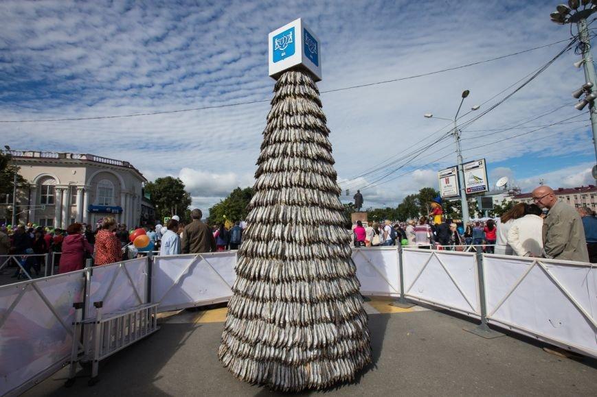 Знаменитую елку из корюшки представили в Южно-Сахалинске, фото-8