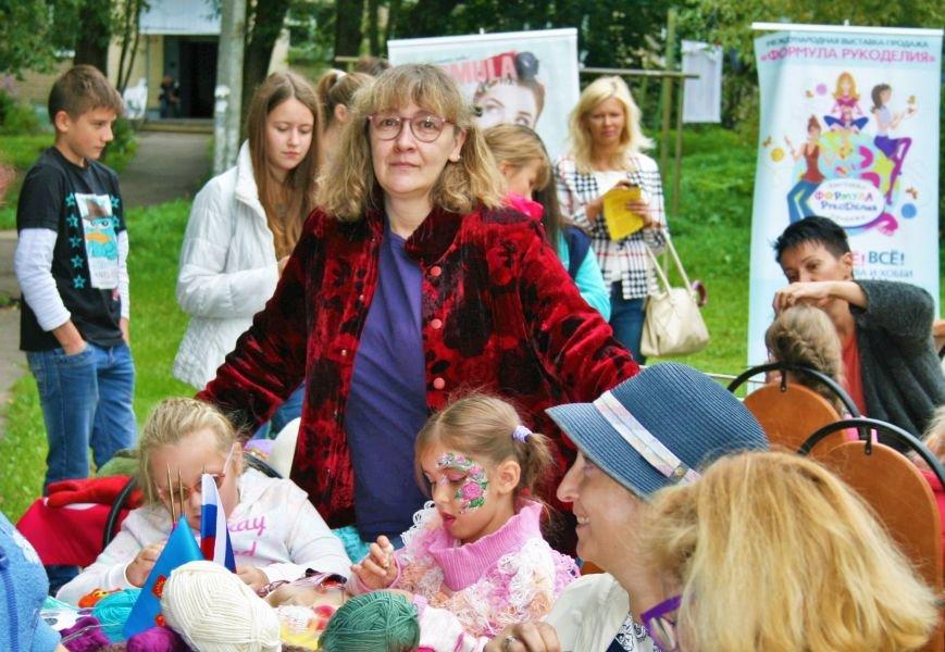 На камвольной фабрике в Троицке прошёл фестиваль пряжи и вязания, фото-5