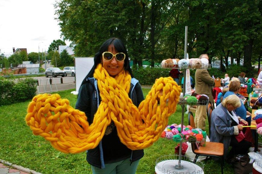 На камвольной фабрике в Троицке прошёл фестиваль пряжи и вязания, фото-4