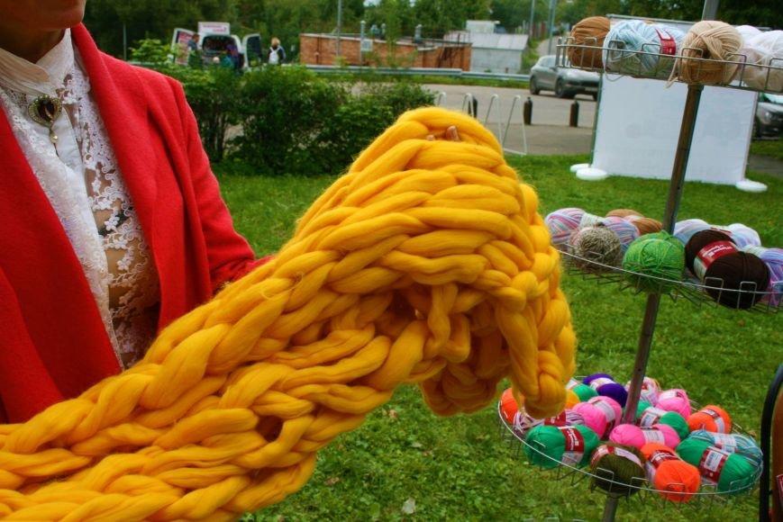 На камвольной фабрике в Троицке прошёл фестиваль пряжи и вязания, фото-3