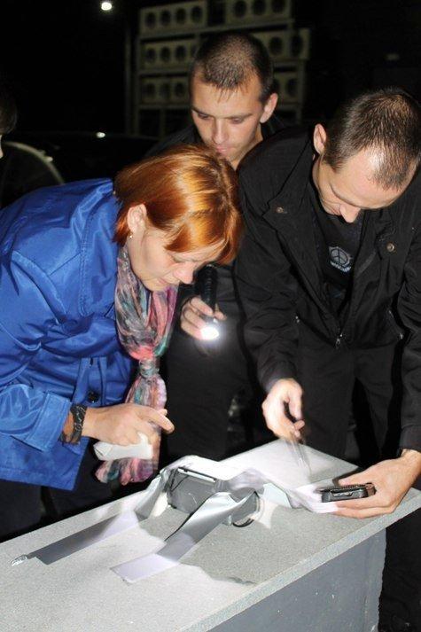 Бампер к бамперу по ночному Полевскому, фото-3
