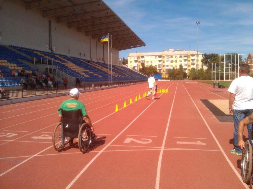 Авдеевские спортсмены-колясочники показали хорошие результаты в Бахмуте (ФОТО), фото-4