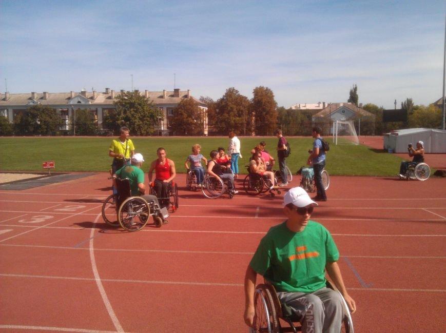 Авдеевские спортсмены-колясочники показали хорошие результаты в Бахмуте (ФОТО), фото-2