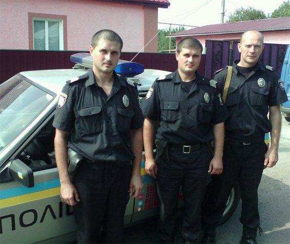 працівники поліції охорони