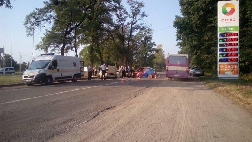 Під час зіткнення двох легковиків на Львівщині постраждало четверо людей (ФОТО), фото-1