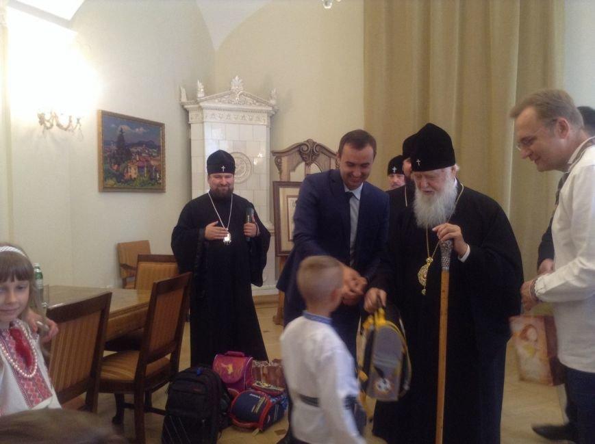 Сьогодні у Львові Святіший Патріарх Філарет вручив подарунки дітям-сиротам (ФОТО+ВІДЕО), фото-2