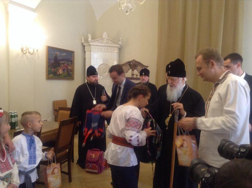 Сьогодні у Львові Святіший Патріарх Філарет вручив подарунки дітям-сиротам (ФОТО+ВІДЕО), фото-3