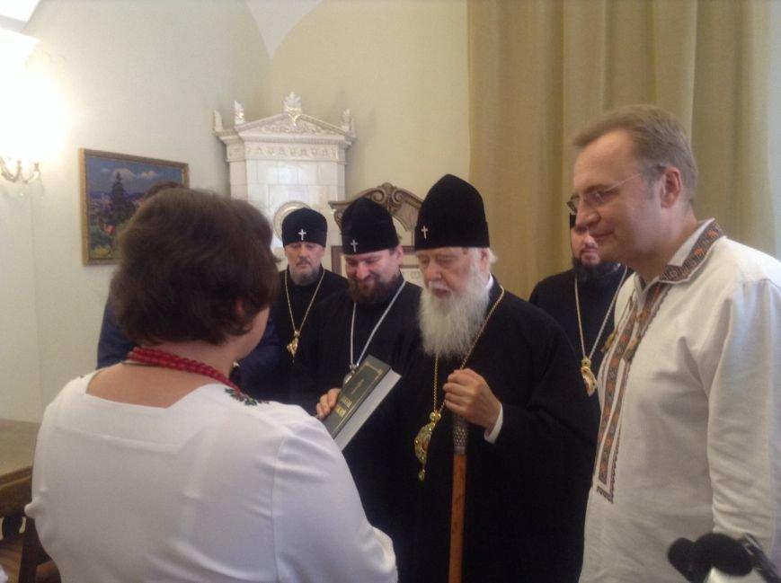 Сьогодні у Львові Святіший Патріарх Філарет вручив подарунки дітям-сиротам (ФОТО+ВІДЕО), фото-4