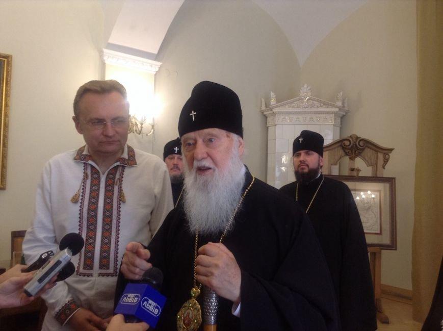 Сьогодні у Львові Святіший Патріарх Філарет вручив подарунки дітям-сиротам (ФОТО+ВІДЕО), фото-6