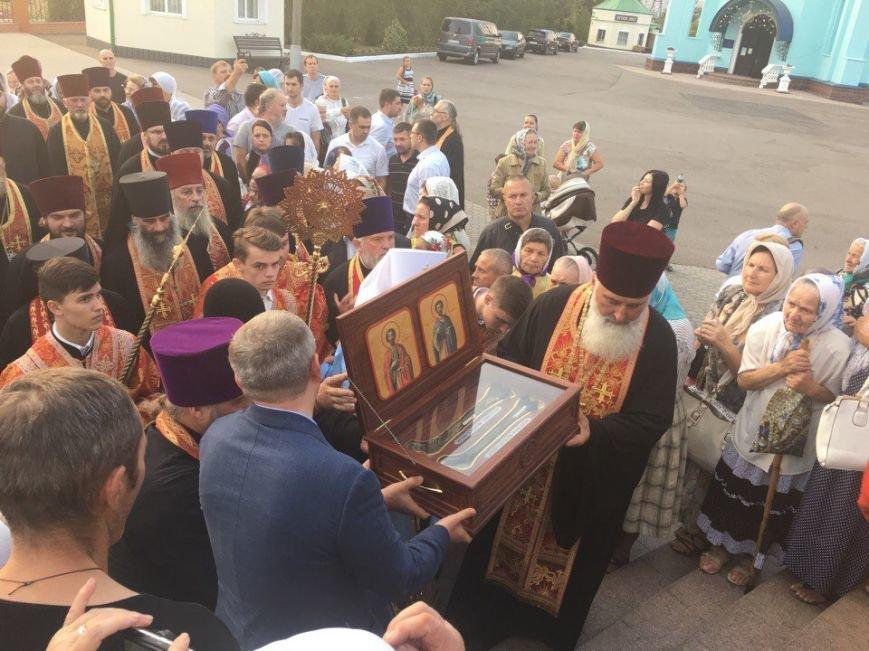 К юбилею Криворожской епархии в город привезли мощи святых (ФОТО), фото-5