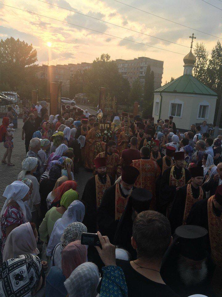 К юбилею Криворожской епархии в город привезли мощи святых (ФОТО), фото-9