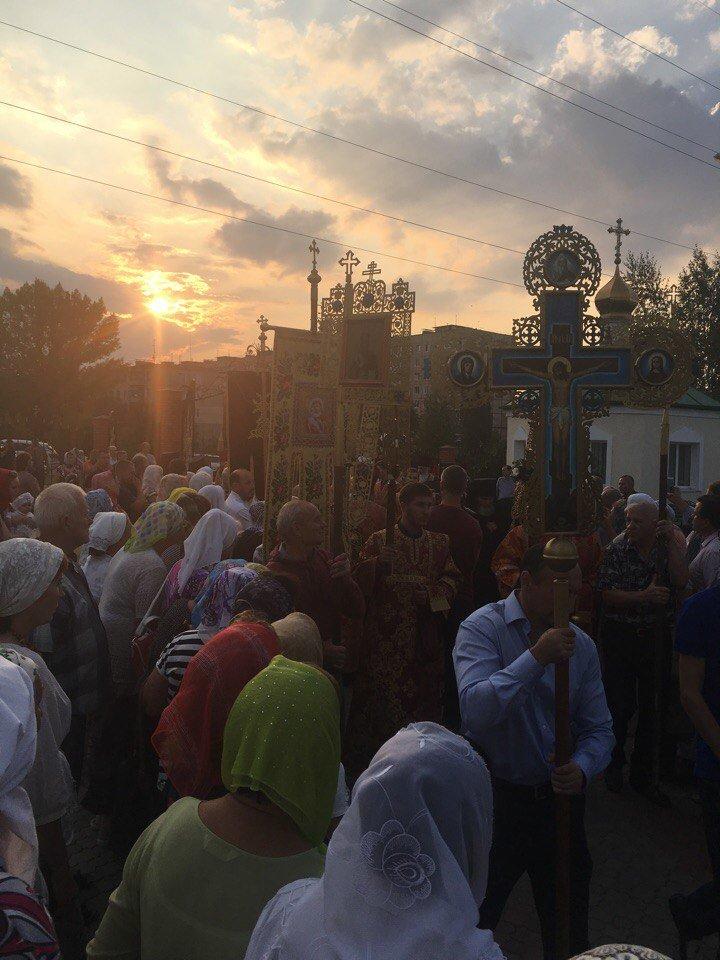 К юбилею Криворожской епархии в город привезли мощи святых (ФОТО), фото-6
