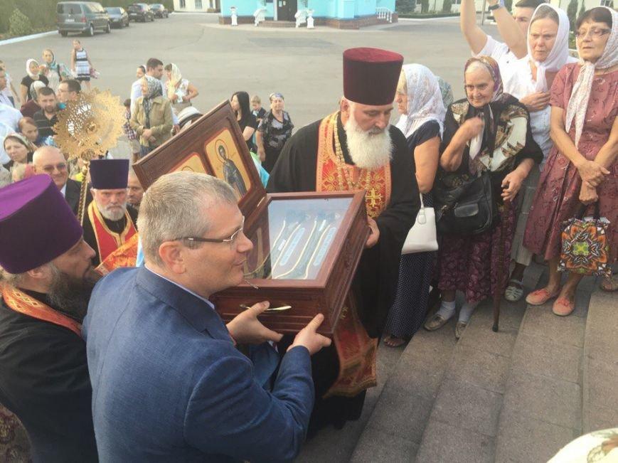 К юбилею Криворожской епархии в город привезли мощи святых (ФОТО), фото-3