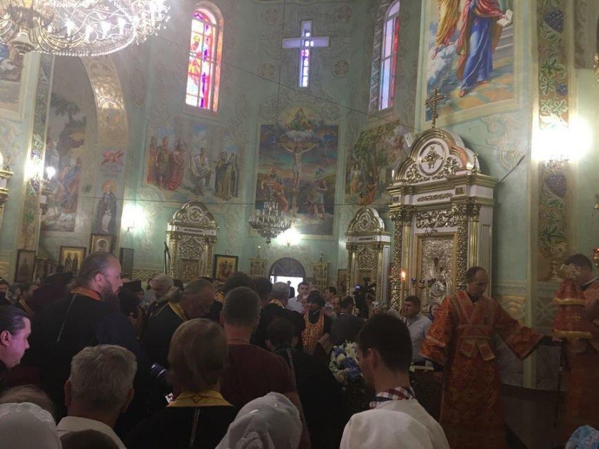 К юбилею Криворожской епархии в город привезли мощи святых (ФОТО), фото-22