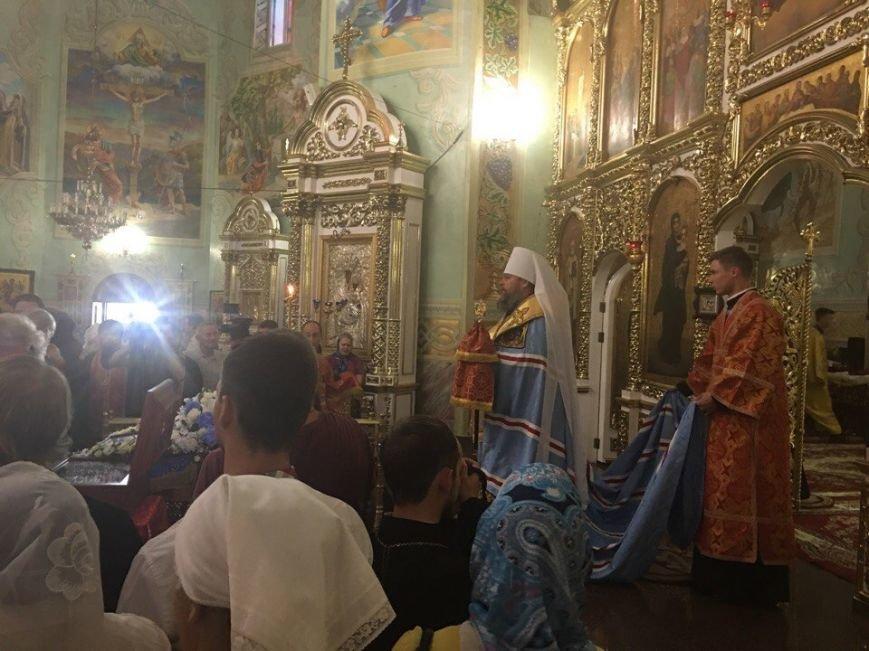 К юбилею Криворожской епархии в город привезли мощи святых (ФОТО), фото-13