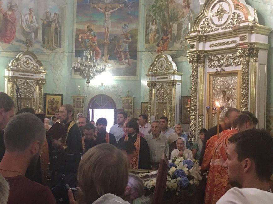 К юбилею Криворожской епархии в город привезли мощи святых (ФОТО), фото-23