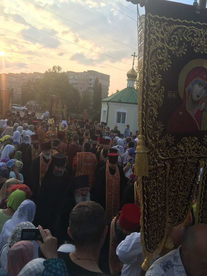 К юбилею Криворожской епархии в город привезли мощи святых (ФОТО), фото-7