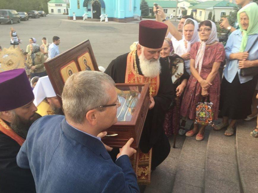 К юбилею Криворожской епархии в город привезли мощи святых (ФОТО), фото-4