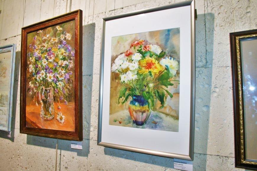 В Троицке состоялась необычная выставка картин, фото-8