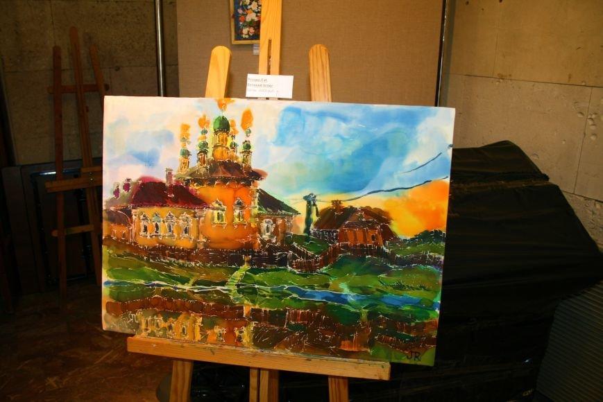 В Троицке состоялась необычная выставка картин, фото-4