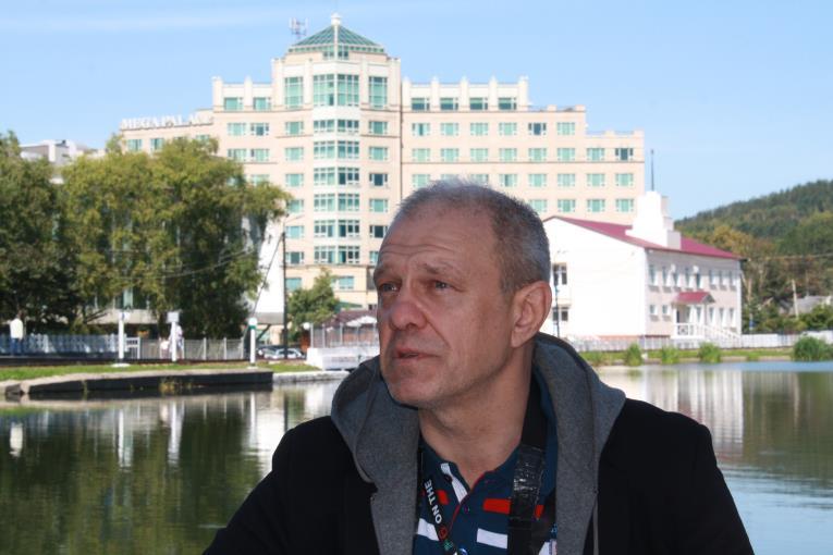 Игорь Шагов проводит мастер-класс на VI Сахалинском международном фестивале «Край света», фото-7