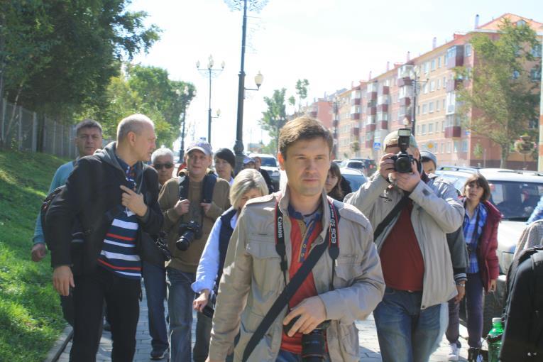 Игорь Шагов проводит мастер-класс на VI Сахалинском международном фестивале «Край света», фото-6