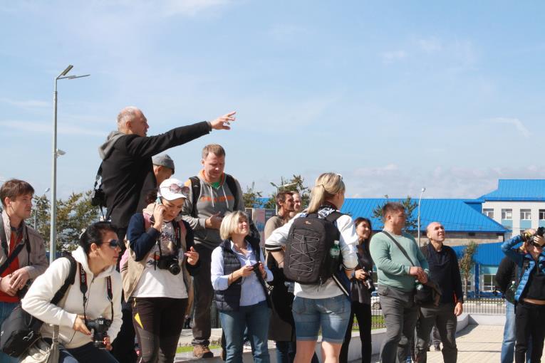 Игорь Шагов проводит мастер-класс на VI Сахалинском международном фестивале «Край света», фото-4