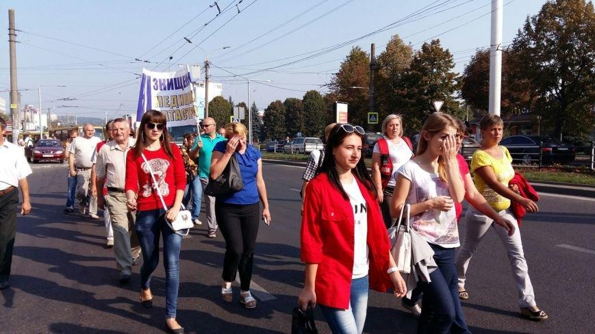 У Львові страйкують працівники служби екстренної медичної допомоги Львівської області (ФОТО, ВІДЕО), фото-2