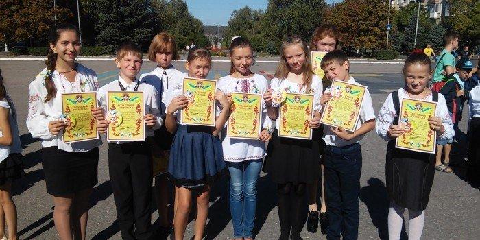 Краматорские школьники стали казаками, фото-1