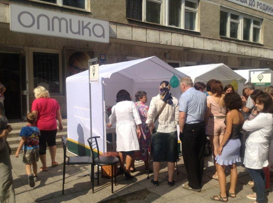 Сьогодні для львів'ян облаштували наметове містечко, аби перевірити стан здоров'я (ФОТО+ВІДЕО), фото-1