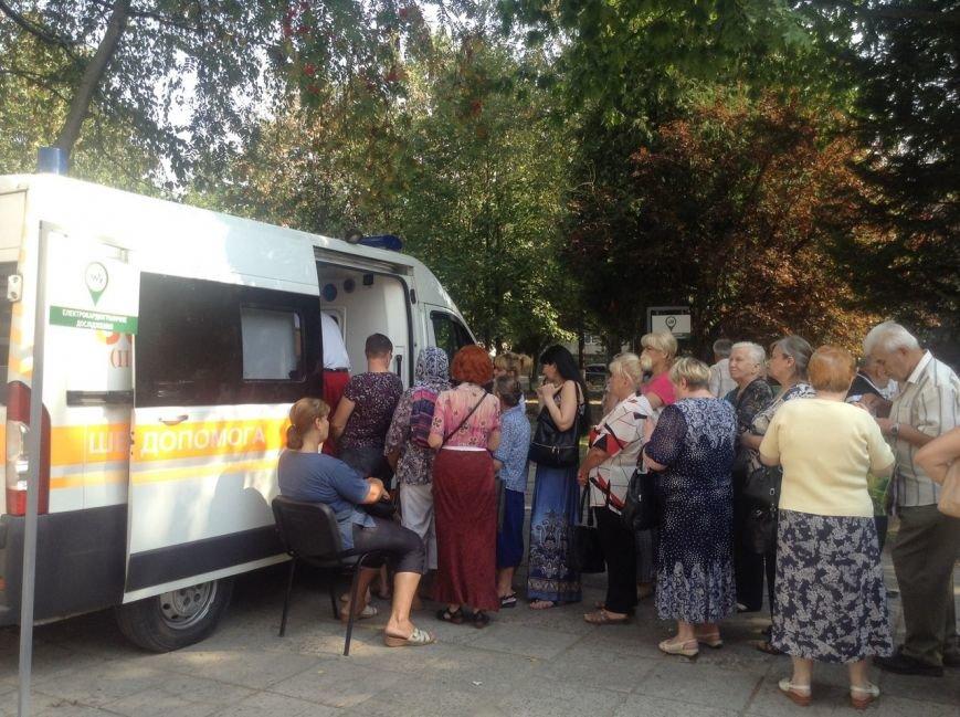 Сьогодні для львів'ян облаштували наметове містечко, аби перевірити стан здоров'я (ФОТО+ВІДЕО), фото-3