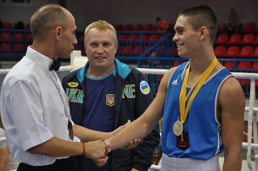 Краматорчанин привез бронзу с кубка Украины по боксу, фото-1