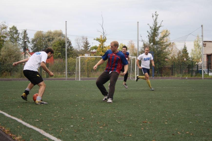 Футбол в поселке Александровская