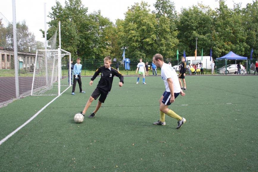 Футбол в поселке Александровская5