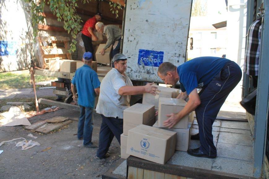 Бахмутская ЦРБ получила продуктовые наборы, фото-3