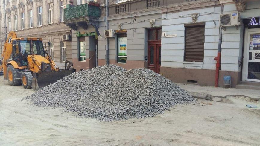 Як у Львові триває ремонт  вулиці Нечуя-Левицького (ФОТО), фото-6